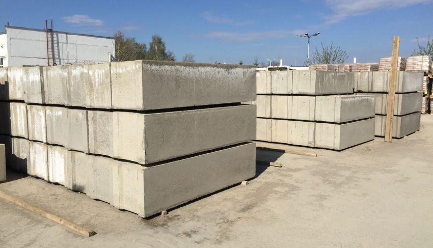Фундаментные блоки — разновидности и характеристики, рекомендации по укладке