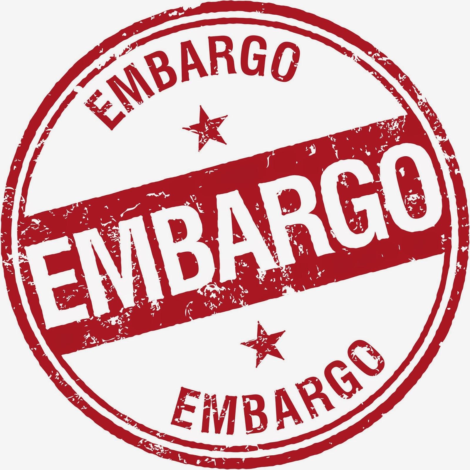 Что такое эмбарго - что это, слово, определение, виды, суть, пример