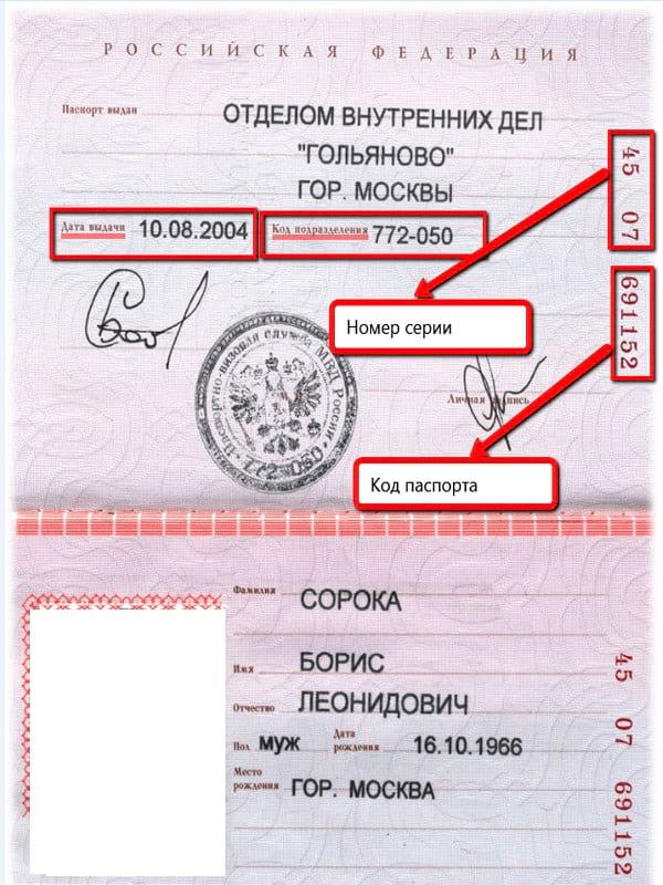 Серия и номер паспорта: где смотреть, что можно узнать по ним