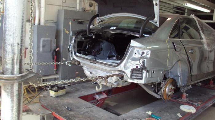 Стапель для кузовного ремонта: устройство и 4 вида оборудования
