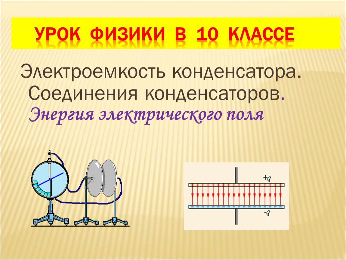 Электроемкость. единицы электроемкости. конденсаторы - класс!ная физика