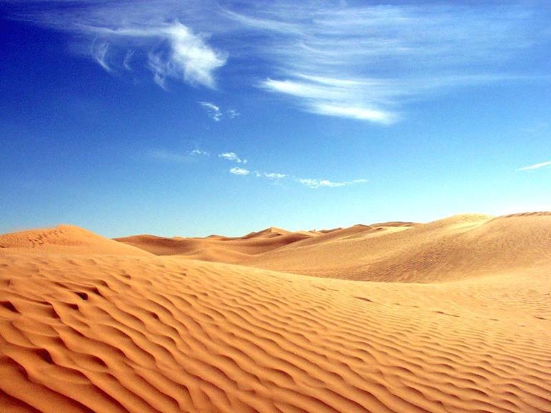Что такое пустыня