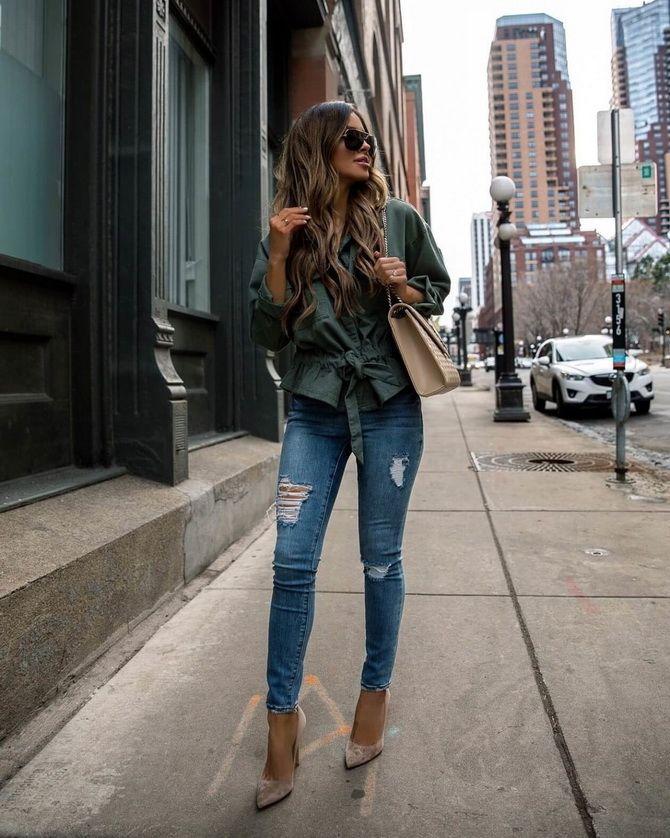 Джинсы скинни: что значит, с чем носить, модные образы с фото