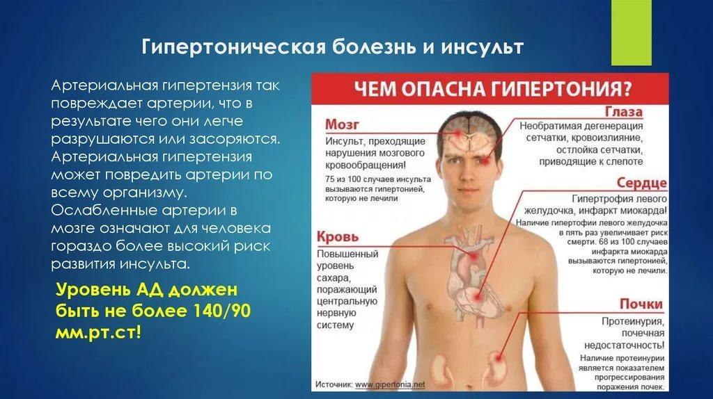 Течение артериальной гипертензии: симптомы, опасность, изменение с возрастом