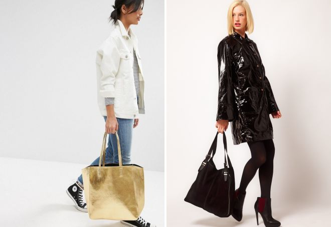 Плюсы и минусы сумок-тоут, обзор брендовых моделей