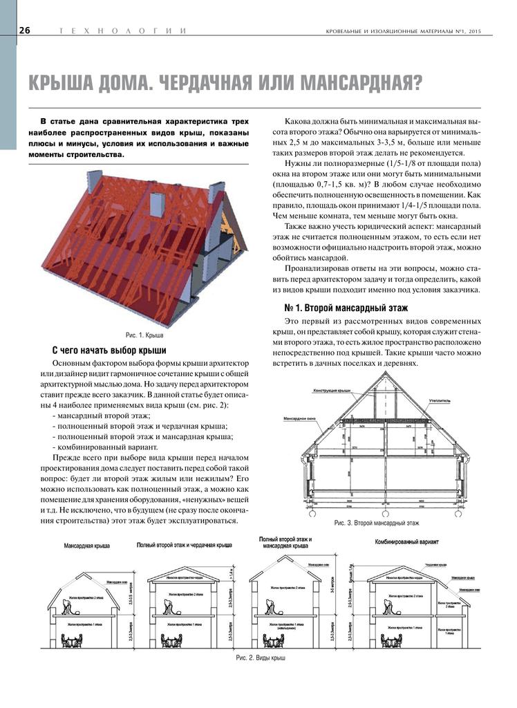 Всё про крыши: виды, устройство, конструкция и строение.