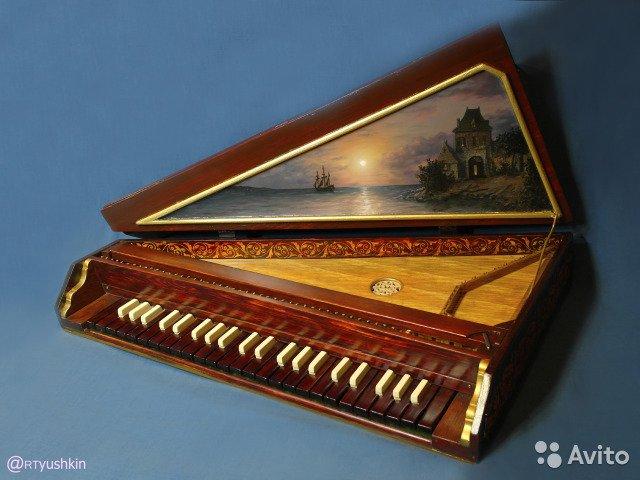 История появления и эволюция клавесина