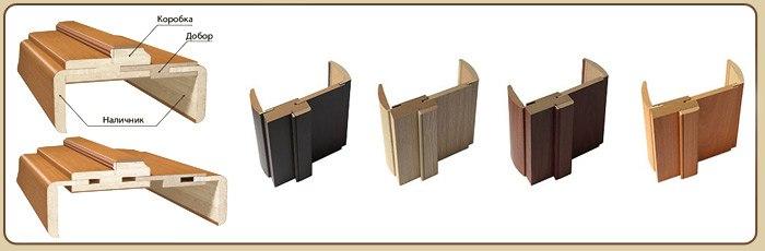 Разновидности доборов для дверной коробки, для чего они нужны, основы монтажа