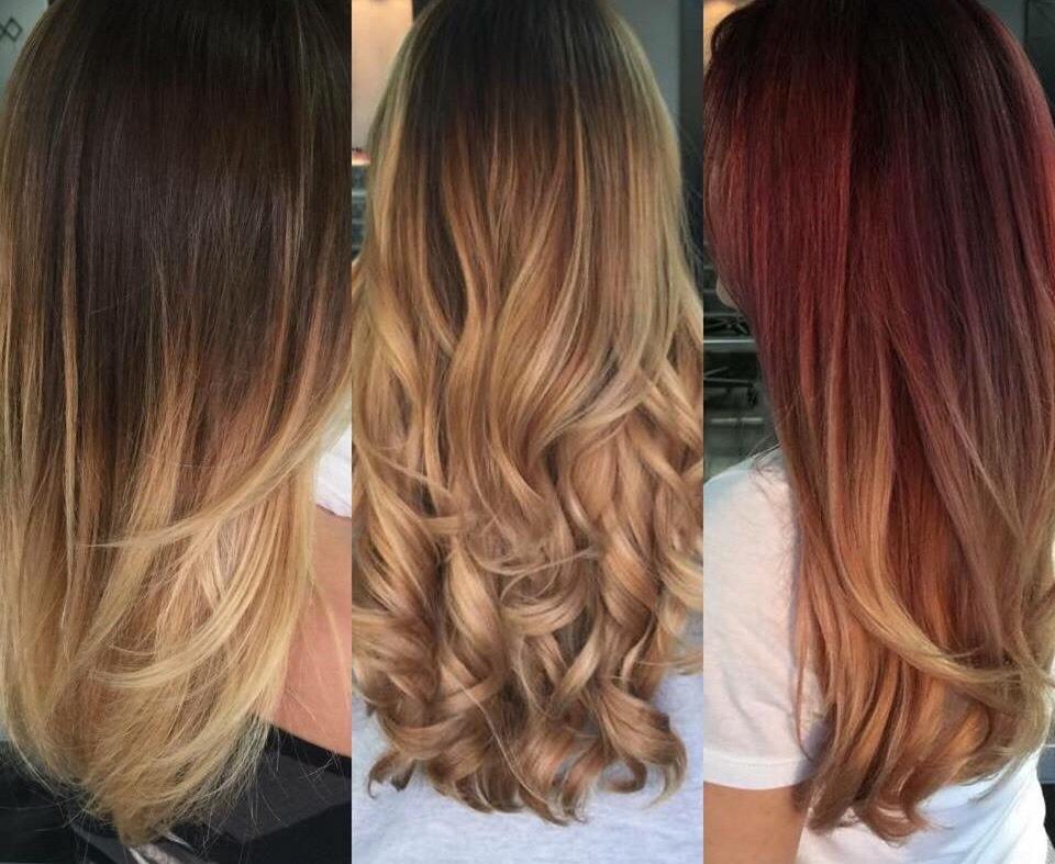 Омбре на темные волосы: особенности, разновидности и советы по подбору оттенка