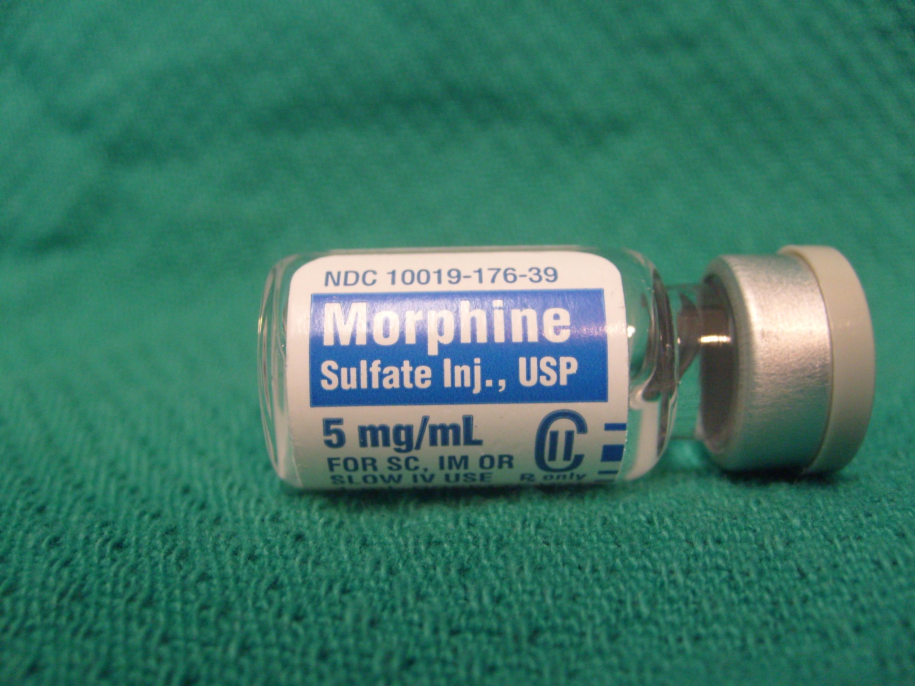 Морфин (морфий): описание, действие, последствия