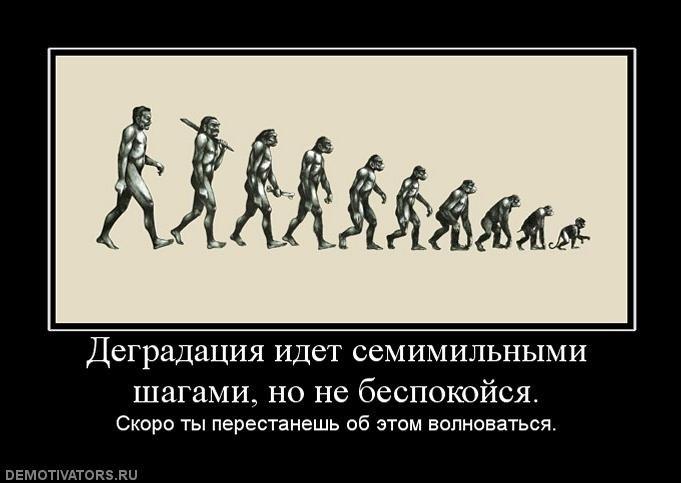Что такое деградация человека