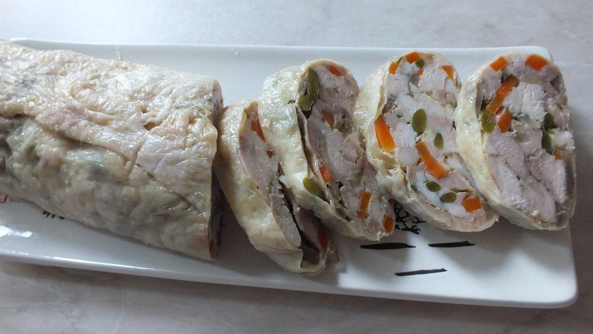 Галантин – это что за блюдо? пошаговое приготовление галантина из курицы