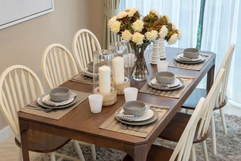 Сервировка стола в домашних условиях (50 фото)