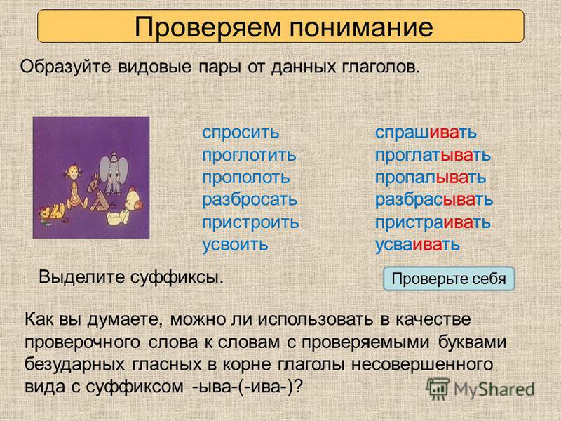 Виды глаголов в русском языке 4. что такое вид глагола? какие бывают виды глаголов