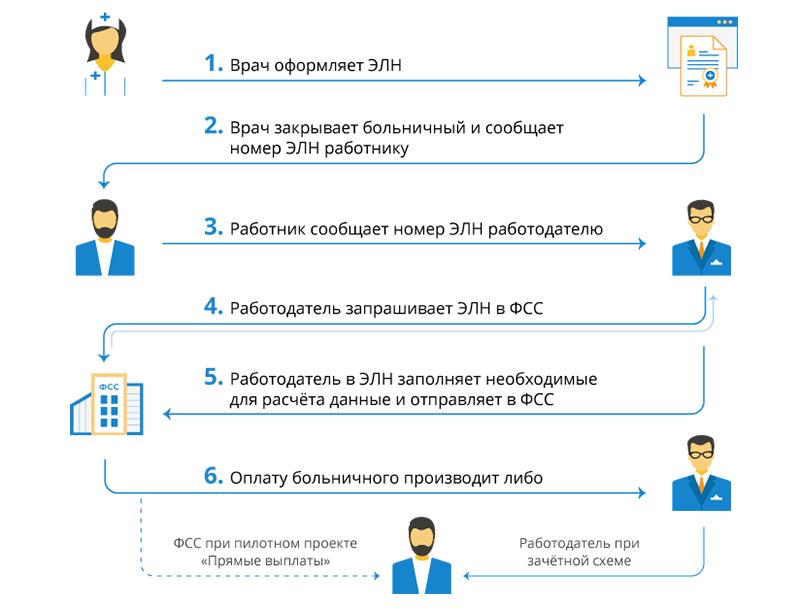 Электронный больничный: лист нетрудоспособности (элн) - что это такое, как он выглядит в виде фото, как это работает, а также что значит пилотный проект фсс рф?