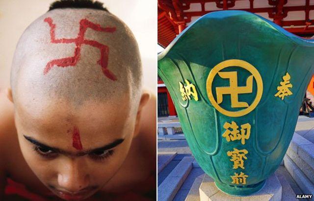 Что означает фашистская свастика, что это за символ?