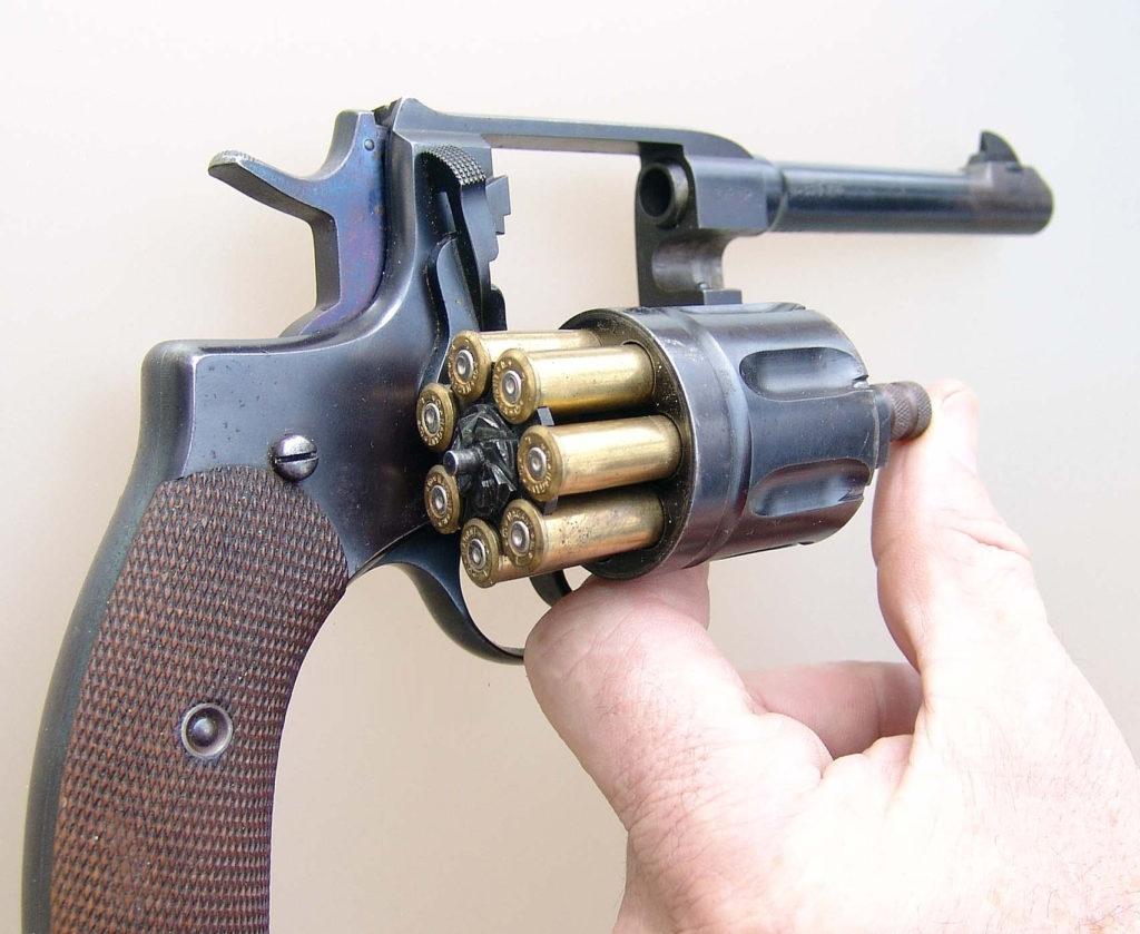 Наган: бельгийский, русский легендарный револьвер — история россии