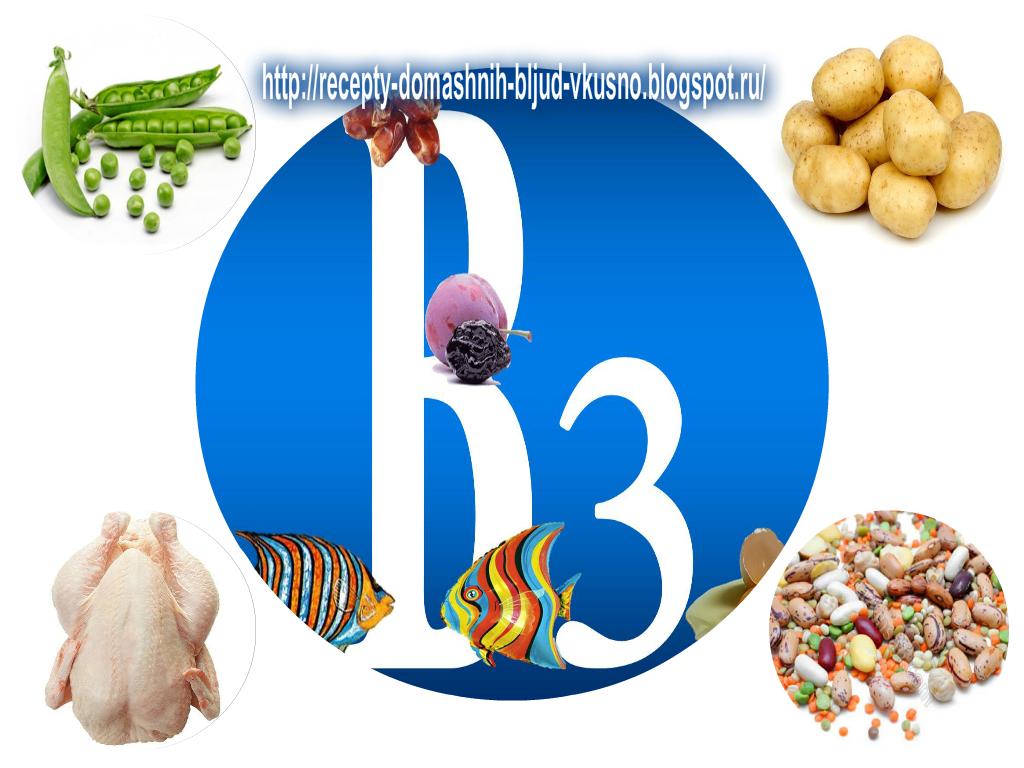 В каких продуктах содержится витамин рр, для чего он нужен