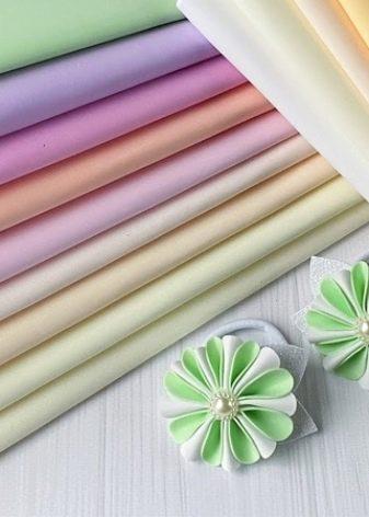 Фоамиран для рукоделия: выбор вида для цветов, игрушек, украшений