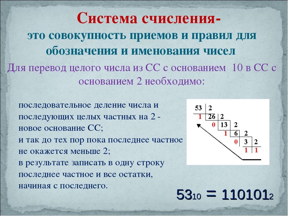 Система счисления — википедия. что такое система счисления
