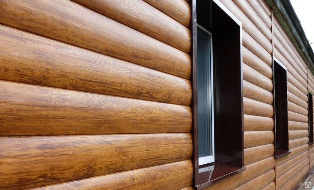Блок-хаус: деревянный, виниловый, металлический, пластиковый