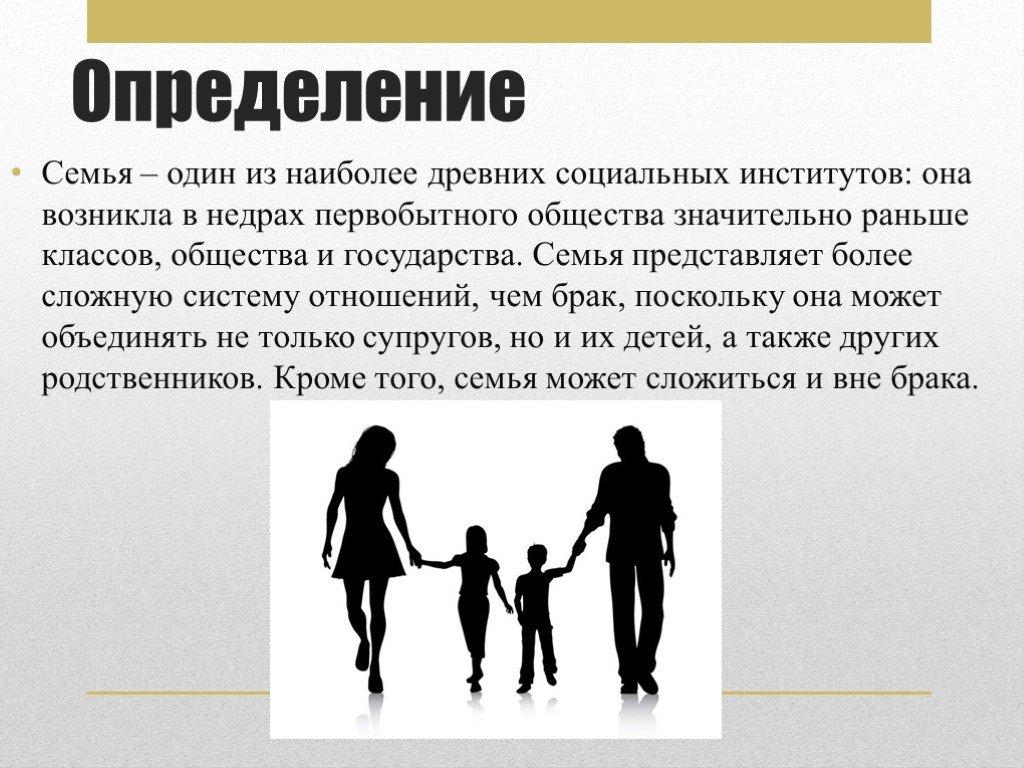 Сочинение на тему: «что такое семья»