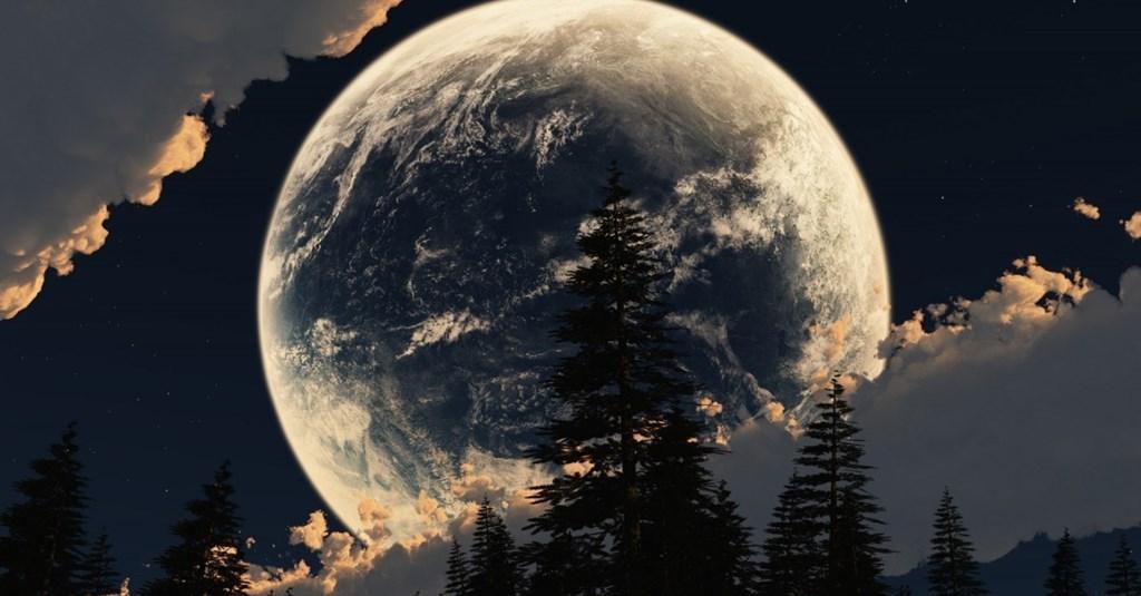 Вращение луны вокруг земли: сидерический, синодический месяц   космос