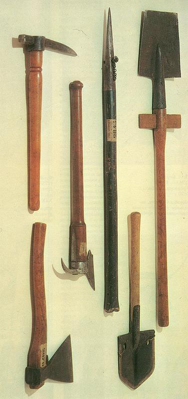 Перечень запасных частей, шанцевого инструмента и заправочного инвентаря для автомобилей