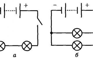 Закон ома для участка цепи. 8-й класс