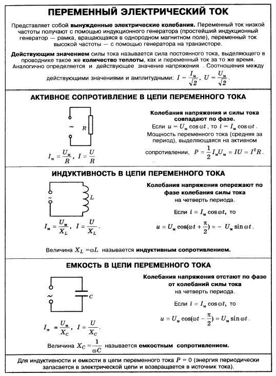 """Конспект """"сила тока. напряжение"""" - учительpro"""