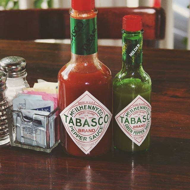 Соус «табаско» — острый и даже иногда очень острый…