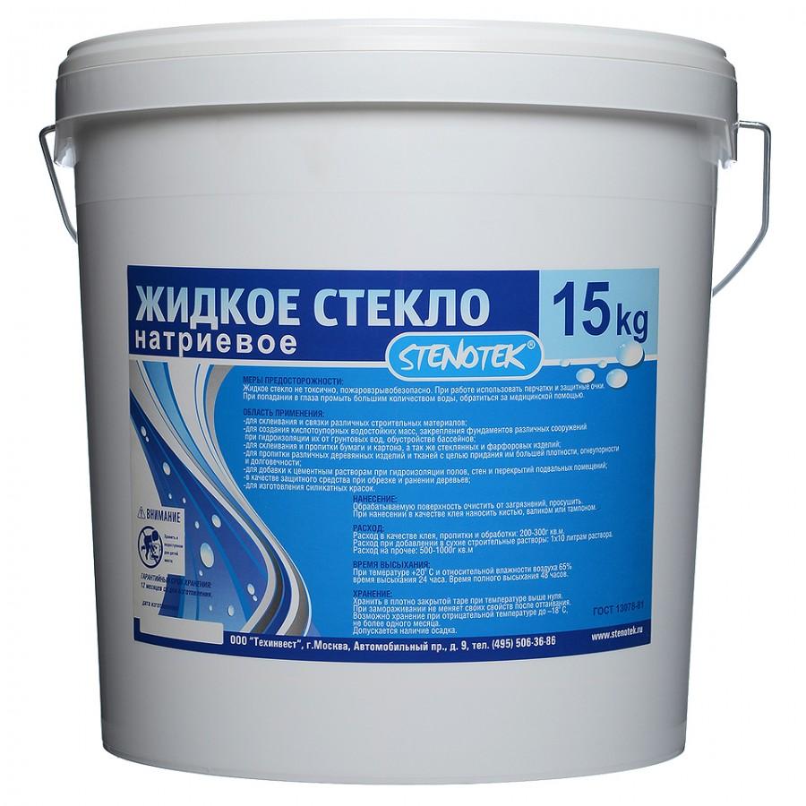 Жидкое стекло – приготовление раствора и его применение в строительстве