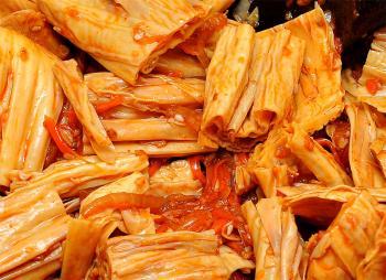 Восточный салат из фучжу, или как приготовить спаржу по-корейски?
