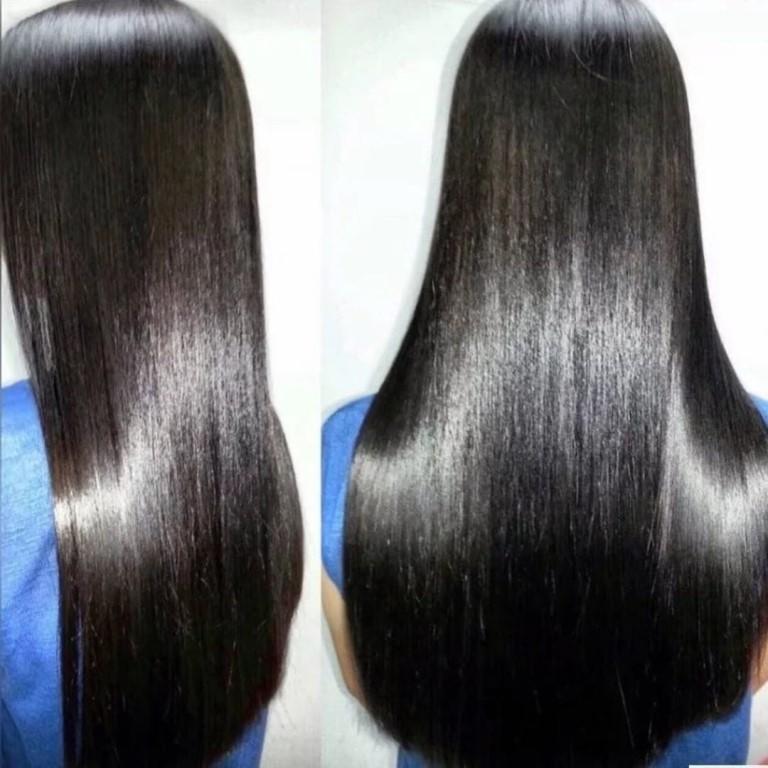 Все тонкости кератинового выпрямления волос пошагово