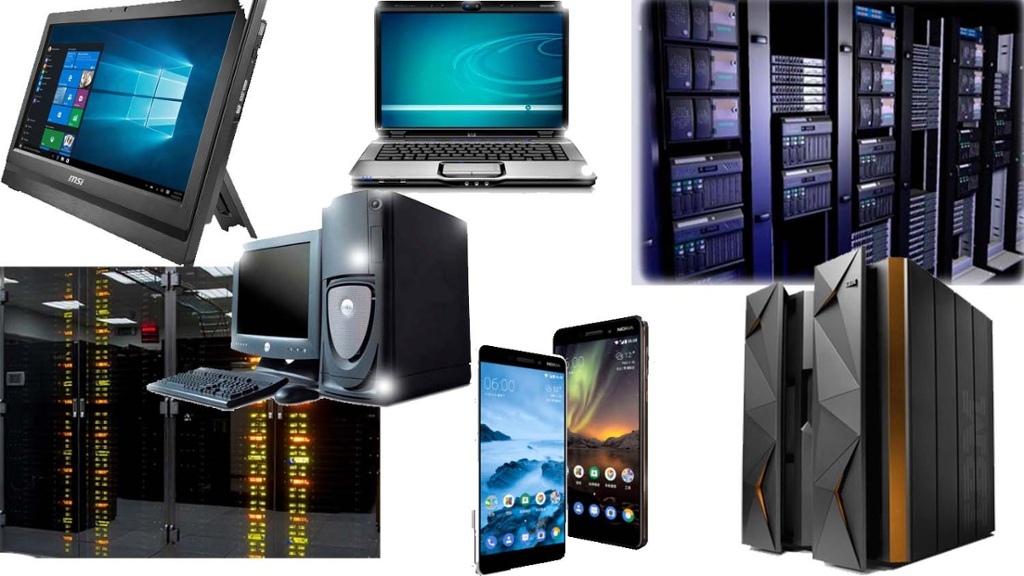Что такое компьютер— какие виды и типы компьютеров бывают