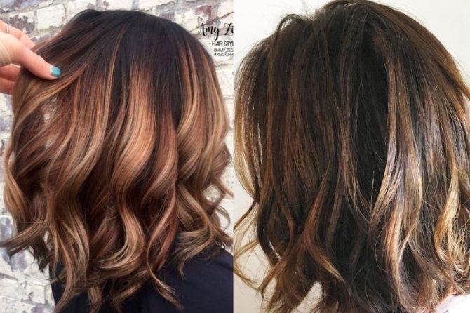 Окрашивание волос балаяж: 27 примеров, тренды 2020