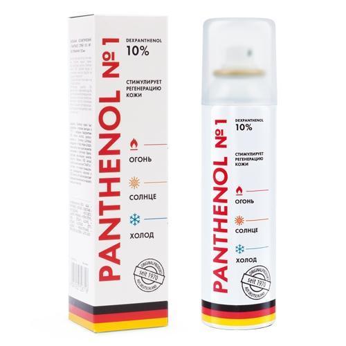 Пантенол: инструкция по применению, отзывы и цены