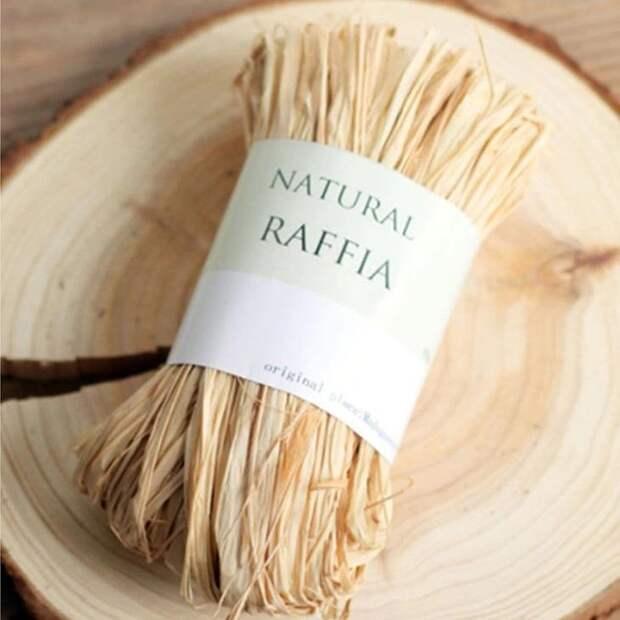 Что такое рафия? свойства материала