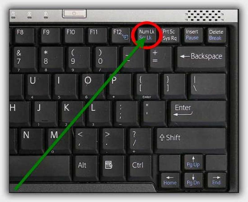 Активация numlock при включении компьютера