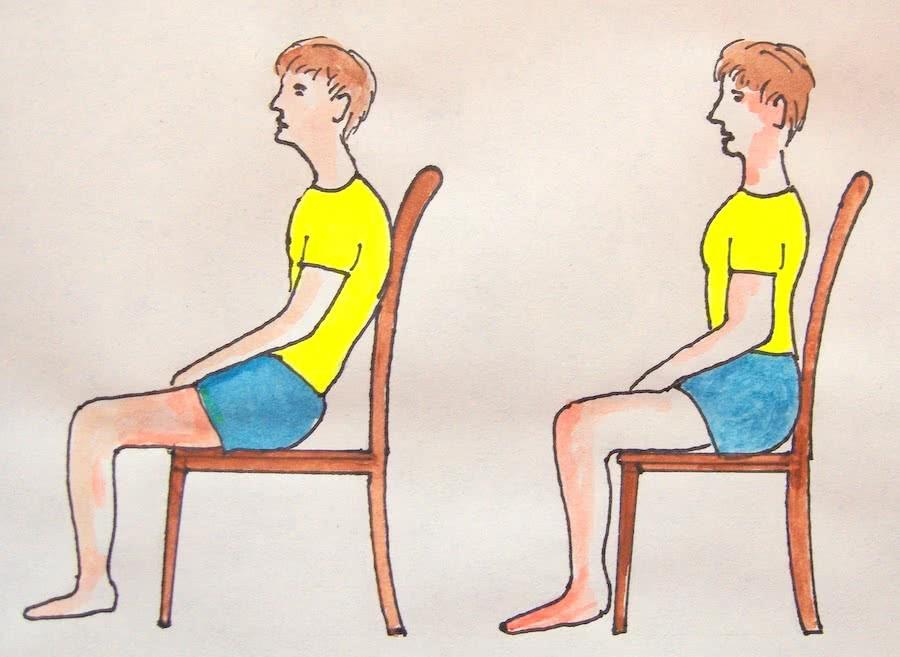 Как проверить осанку в домашних условиях