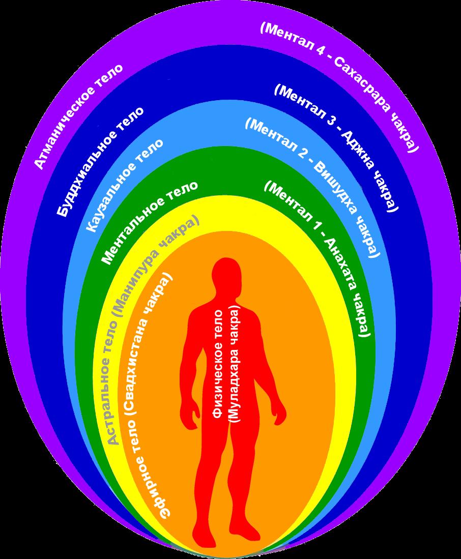 Аура человека: цвета ауры, ее структура, типы и способы очищения