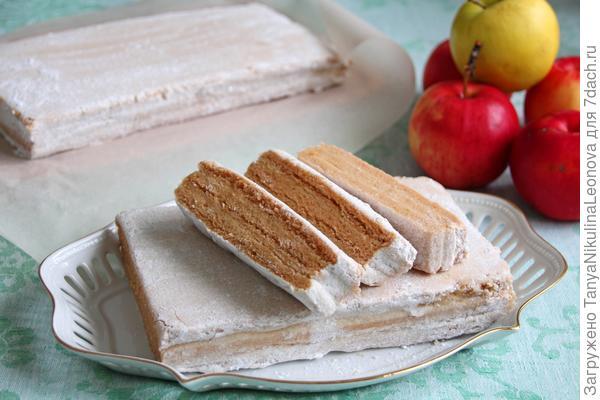 Белёвская яблочная пастила – кулинарный рецепт