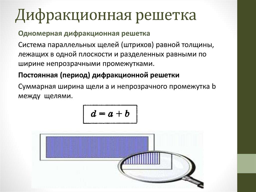 Дифракционная решётка — википедия с видео // wiki 2