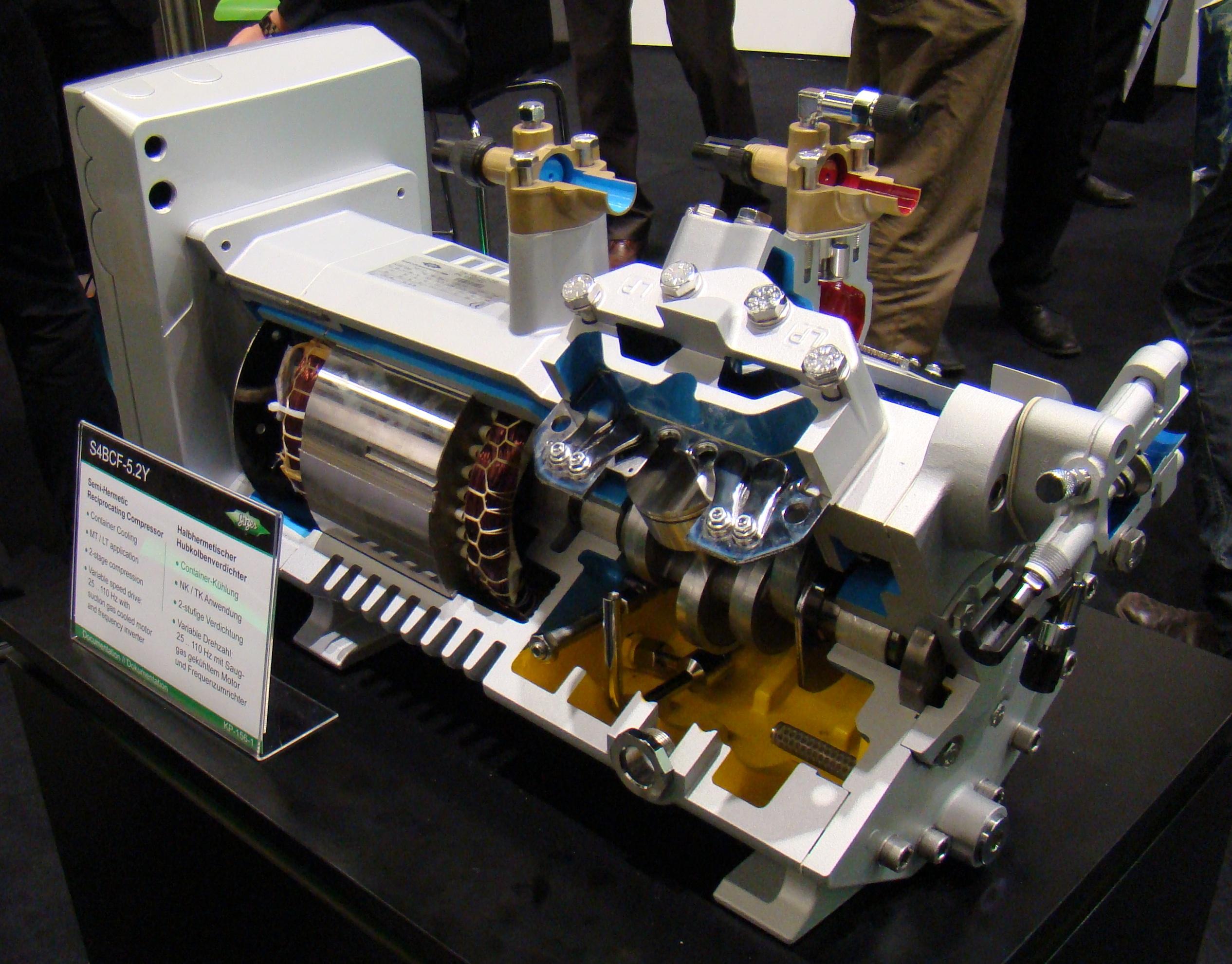 Линейный инверторный компрессор — remontol