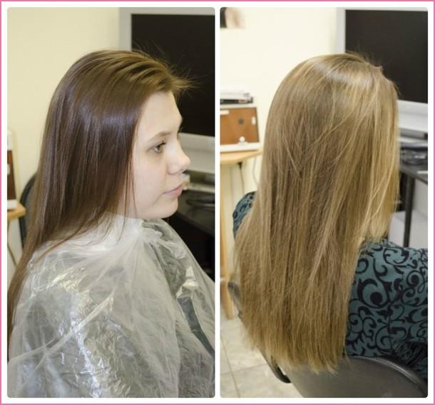 Тонирование волос в домашних условиях, фото и видео