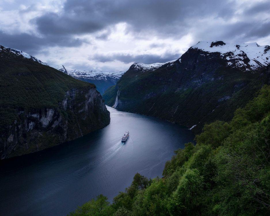 Люсе-фьорд — википедия. что такое люсе-фьорд
