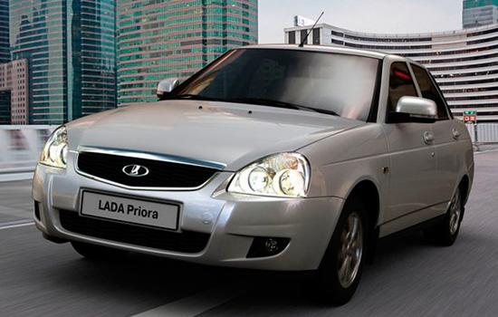 Lada priora — описание модели