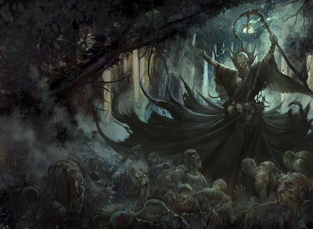 Магия некромантов какая она на само деле?