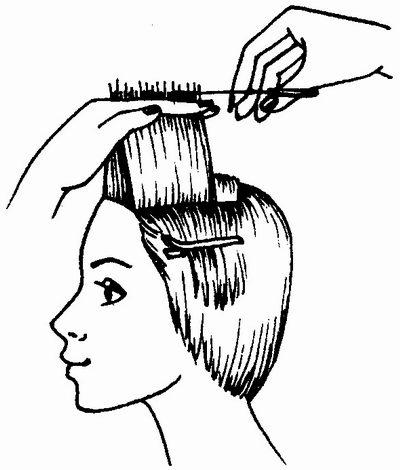 Форма окантовки женской стрижки, на длинные и короткие волосы | krasota.ru