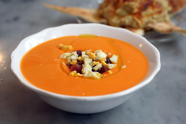 Сальморехо - рецепт холодного испанского супа